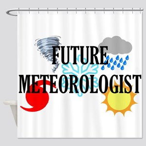 Future Meteorologist Shower Curtain