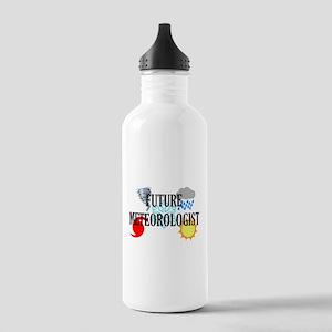 Future Meteorologist Water Bottle