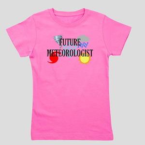 Future Meteorologist Girl's Tee