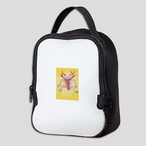 axolotl Neoprene Lunch Bag