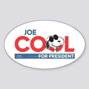 Joe Cool for President Sticker