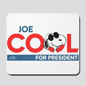 Joe Cool for President Mousepad