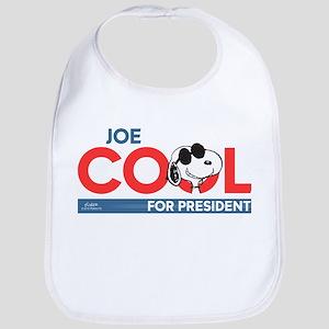 Joe Cool for President Bib