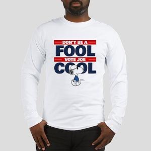 Vote Joe Cool Long Sleeve T-Shirt