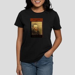 """""""Vincent Van Gogh"""" - Women's Dark T-Shirt"""