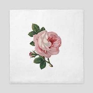 Elegant rose Queen Duvet