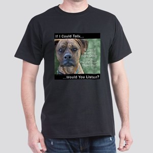 Stop Dog Fighting - Dark T-Shirt