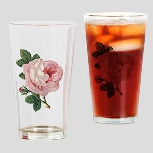 Elegant rose Drinking Glass
