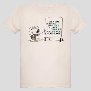 Snoopy - Teacher Notes Organic Kids T-Shirt