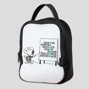 Snoopy - Teacher Notes Neoprene Lunch Bag