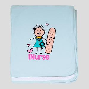 I Nurse baby blanket
