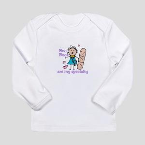 Lady Nurse Long Sleeve T-Shirt