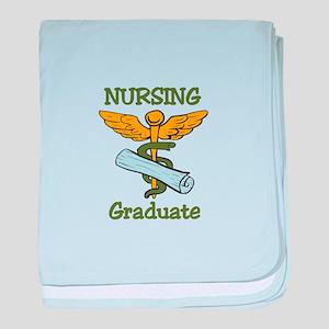 Nursing Graduate baby blanket