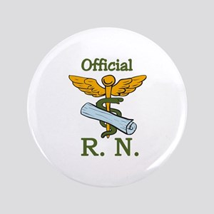 Official R.N. Button