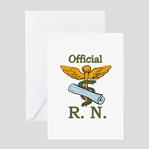 Official R.N. Greeting Cards