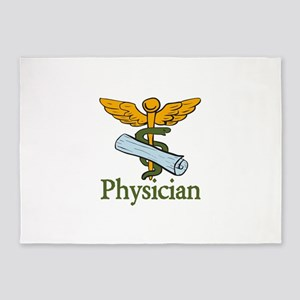 Physician 5'x7'Area Rug