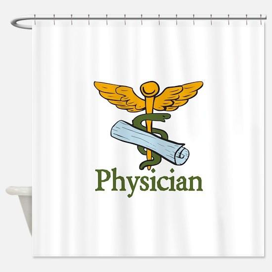 Physician Shower Curtain