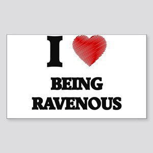 being ravenous Sticker