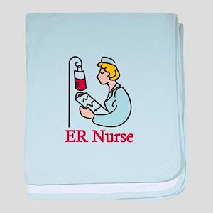 ER Nurse baby blanket