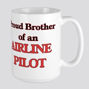 Proud Brother of a Airline Pilot Mugs