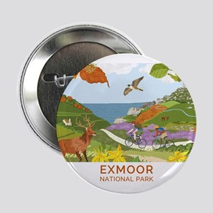 "Exmoor National Park Badge 2.25"" Button"