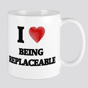 being replaceable Mugs