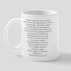 Psycho Speech Mug