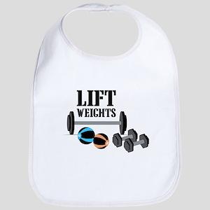 Lift Weights Bib