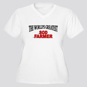 """The World's Greatest Sod Farmer"" Women's Plus Siz"
