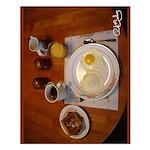 Saturday Eggs Small Poster