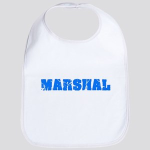 Marshal Blue Bold Design Baby Bib