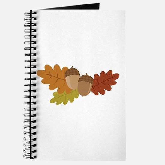 Acorn Leaves Journal