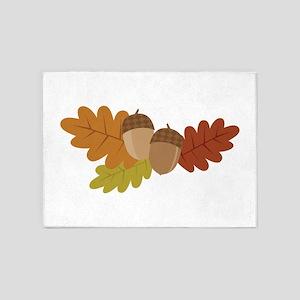 Acorn Leaves 5'x7'Area Rug
