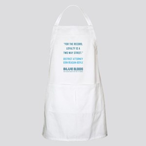 FOR THE RECORD... Light Apron