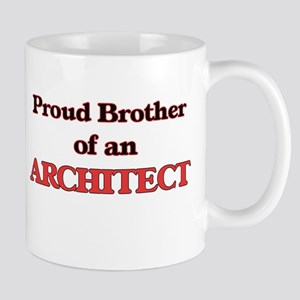 Proud Brother of a Architect Mugs