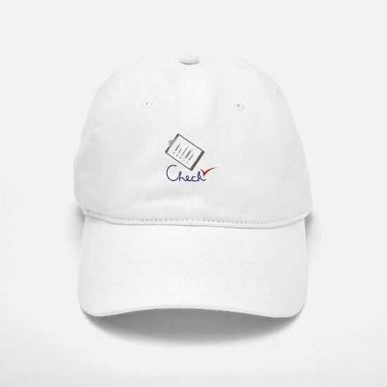 Checklist Approval Baseball Baseball Baseball Cap