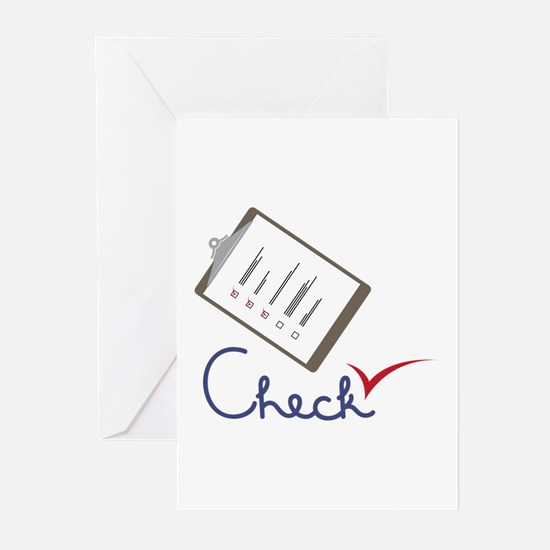 Checklist Approval Greeting Cards