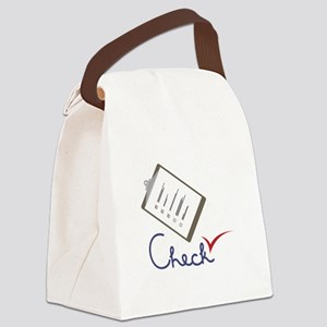 Checklist Approval Canvas Lunch Bag