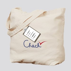 Checklist Approval Tote Bag