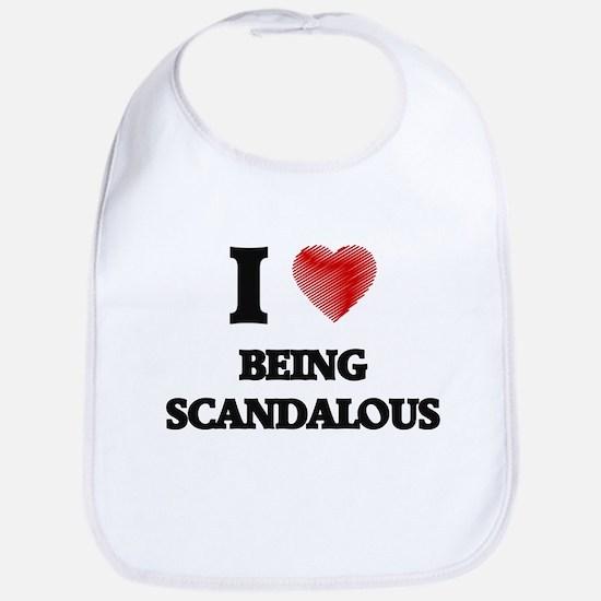 being scandalous Bib