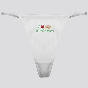 Grilled Cheese Heart Classic Thong
