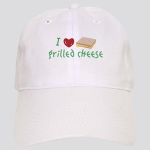 Grilled Cheese Heart Baseball Cap
