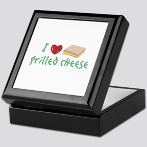 Grilled Cheese Heart Keepsake Box