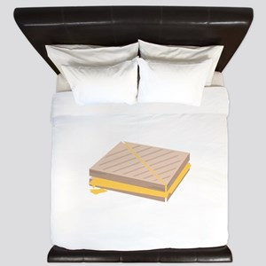 Grilled Cheese King Duvet
