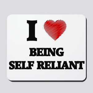 being self reliant Mousepad