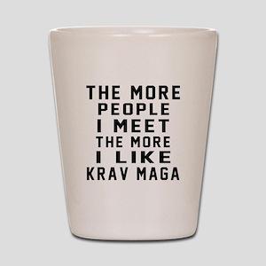 I Like Krav Maga Shot Glass