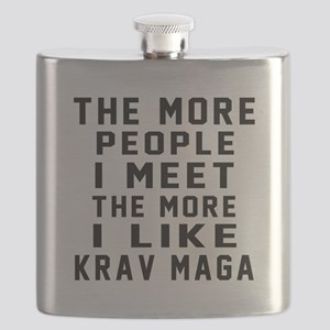 I Like Krav Maga Flask