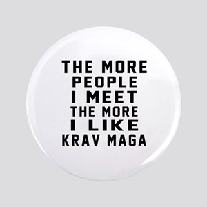 I Like Krav Maga Button