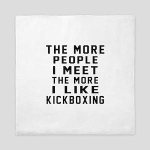 I Like kickboxing Queen Duvet