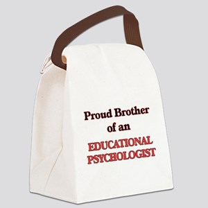 Proud Brother of a Educational Ps Canvas Lunch Bag